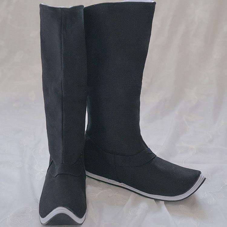 buy black boot hanfu shoes