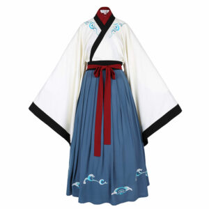 cloud ruqun hanfu dress newhanfu