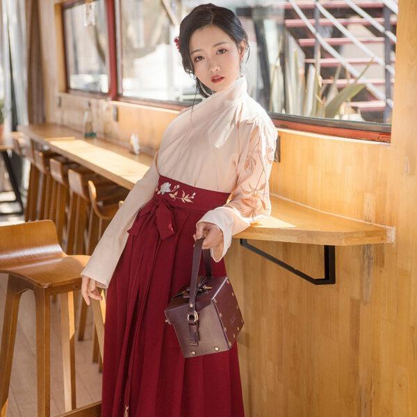red rose ruqun hanfu newhanfu
