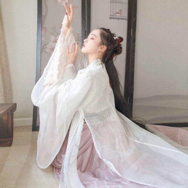 chinese tradition ruqun hanfu newhanfu