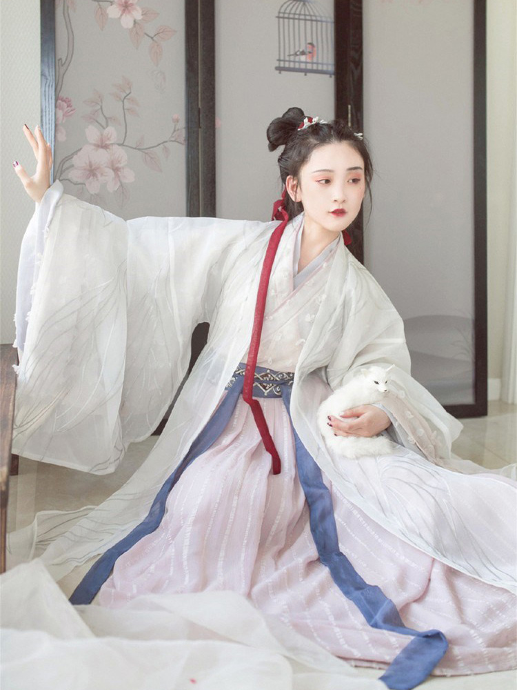 Hanfu Chinese Dress White Newhanfu store
