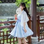 Hanfu-Chinese-Traditional-Clothing-Blue-XL-Yulan-Newhanfu