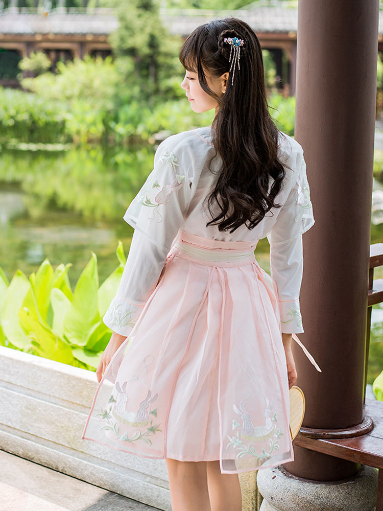Hanfu Chinese Traditional Dress Blue