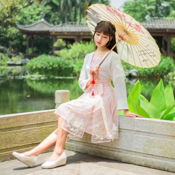 modern hanfu dress set newhanfu