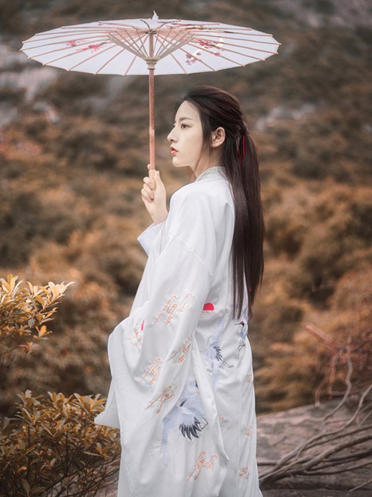 Hanfu Male Chinese Clothing White