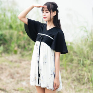 modern hanfu summer dress newhanfu