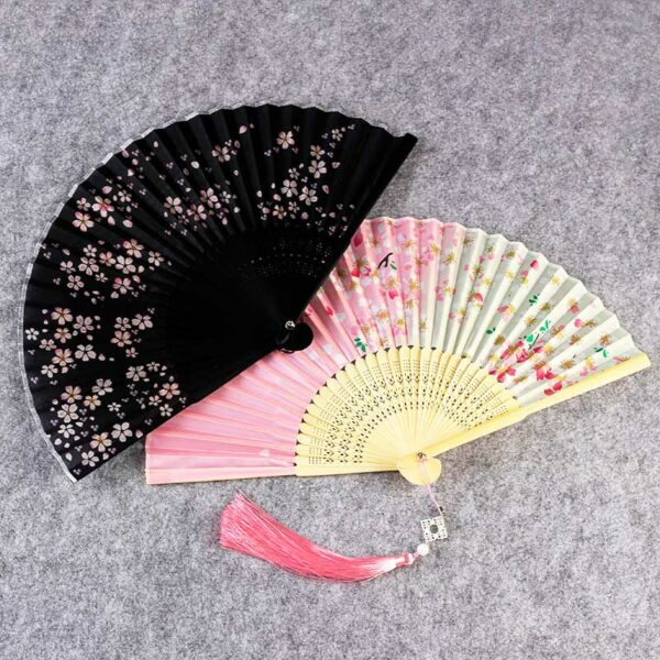 paper folding fan hanfu accessories newhanfu
