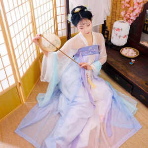 chest ruqun hanfu dress newhanfu