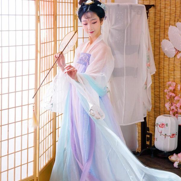chest ruqun hanfu dress newhanfu