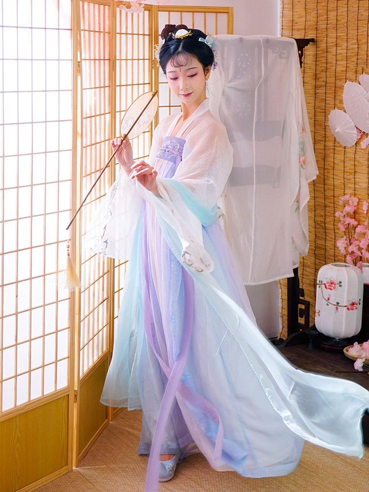 hanfu classic ruqun dress newhanfu shop