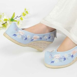 hanfu high heels shoes newhanfu