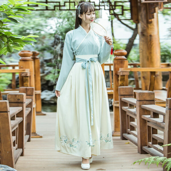 traditional ruqun hanfu dress newhanfu