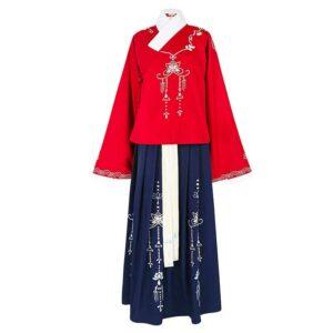 ren aoqun hanfu dress newhanfu