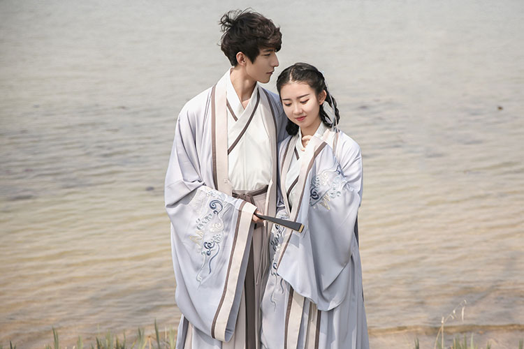 shop men hanfu dress couple