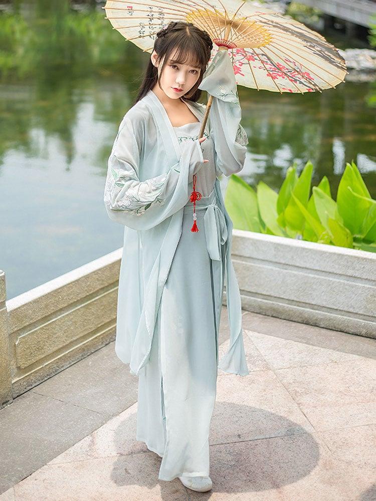 traditional hanfu pants newhanfu