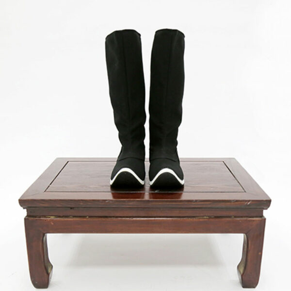 black boot hanfu shoes