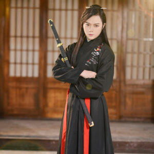 black swordman male hanfu