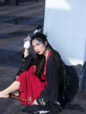 waist ruqun hanfu