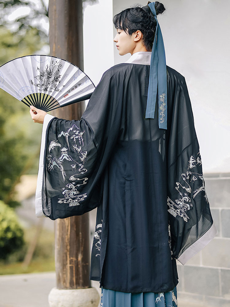 cloud pine male hanfu shop