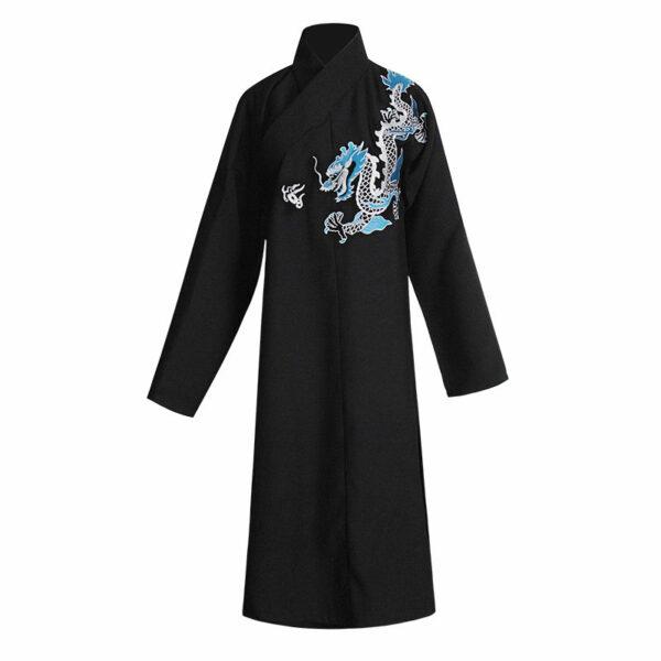 dragon male hanfu robe