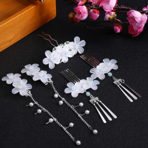 five petals hanfu jewelry