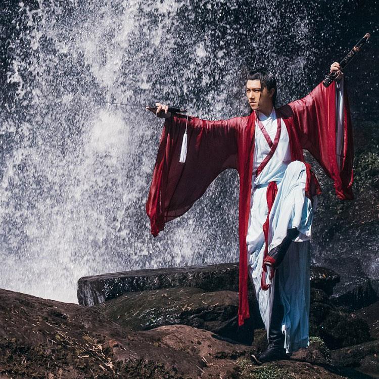 immortal swordman costume
