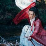 immortal swordman kungfu costume