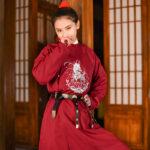 kylin robe hanfu male