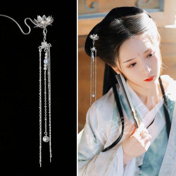 lotus hairpin shop hanfu