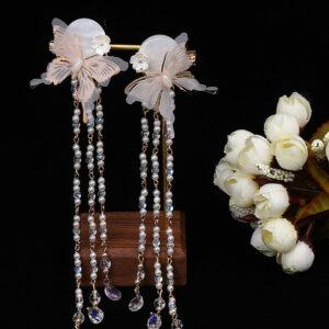 moon butterfly hanfu jewelry