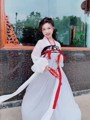 hanfu girl newhanfu