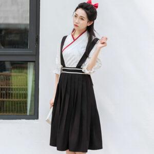 preppy style modern hanfu