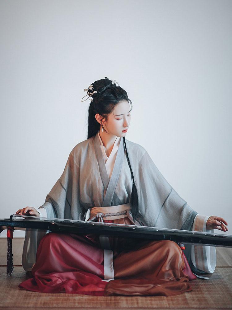 shop Guqin music hanfu costume