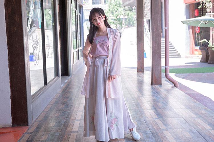 shop summer rose modern hanfu