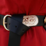 spider belt hanfu robe