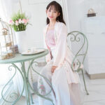 summer rose modern hanfu
