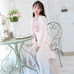 summer rose modern hanfu