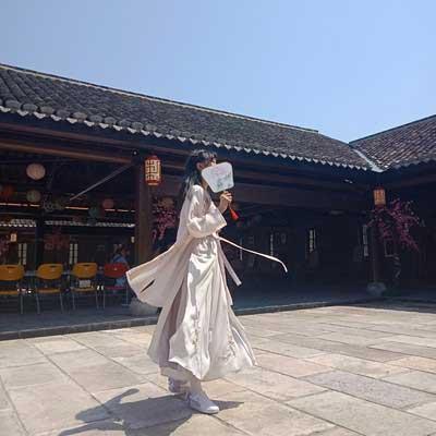 summer modern hanfu