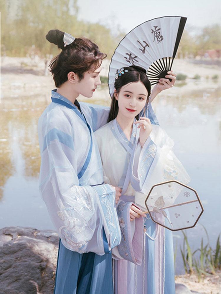 sweet young male hanfu buy