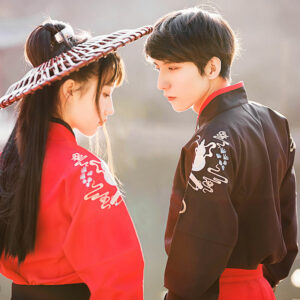 sword couple kungfu hanfu