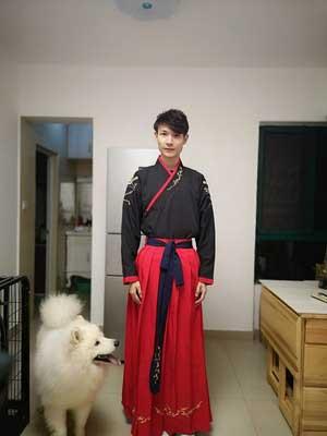 kungfu male hanfu