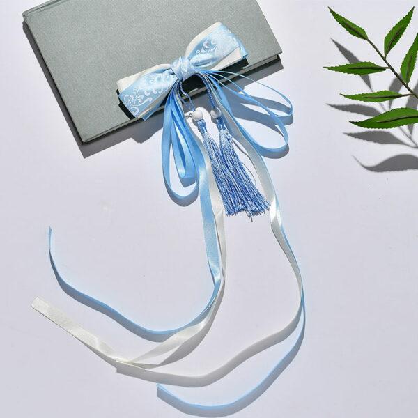tassel bow hanfu hairband