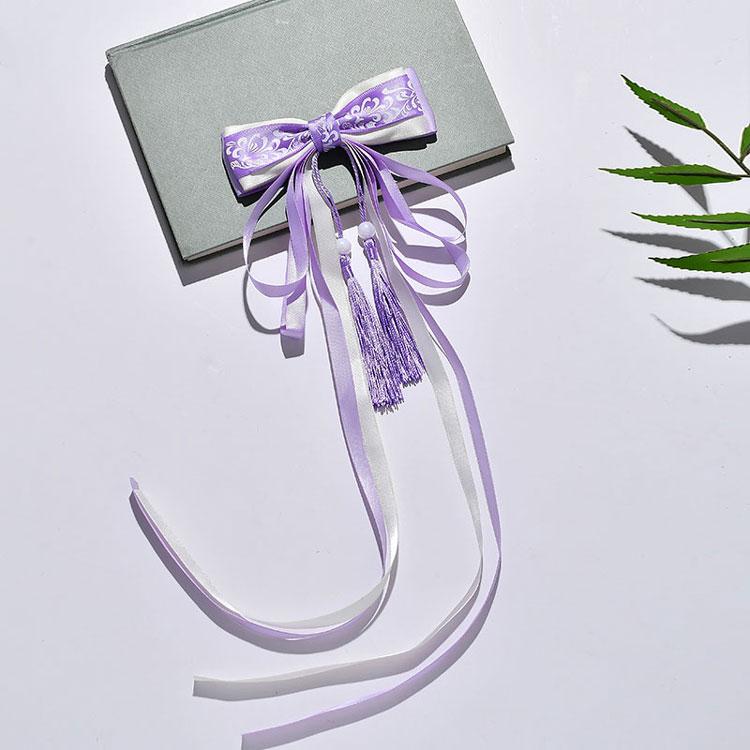 tassel bow hanfu hairband buy