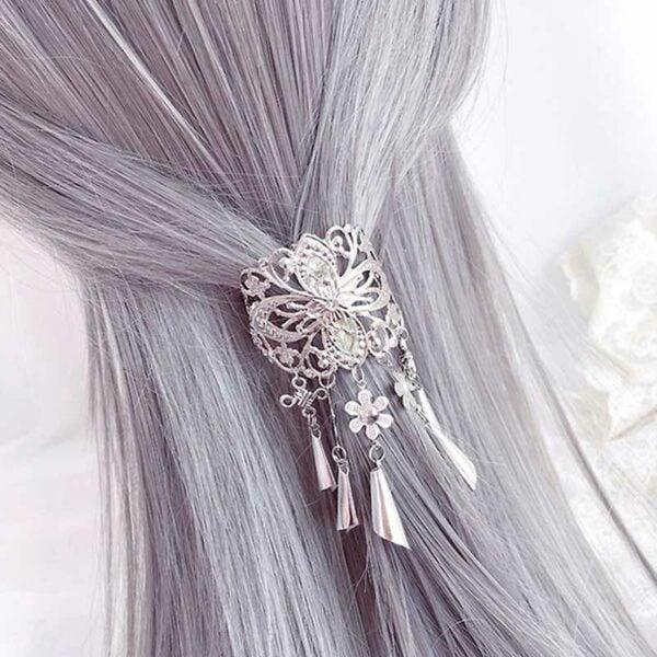 windbell hairclip hanfu jewelry