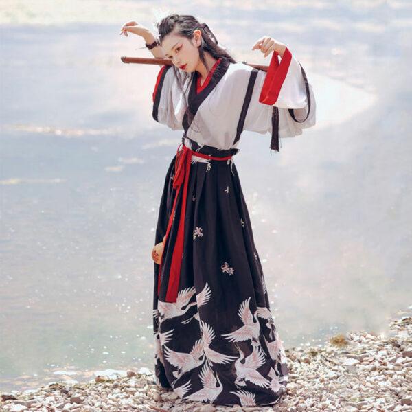 women hero hanfu ruqun costume