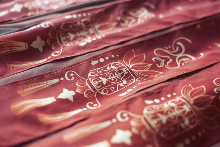 modern hanfu red lotus buy