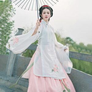 shop autumn mums hanfu robe