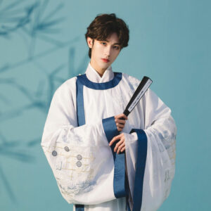 chess male hanfu robe shop