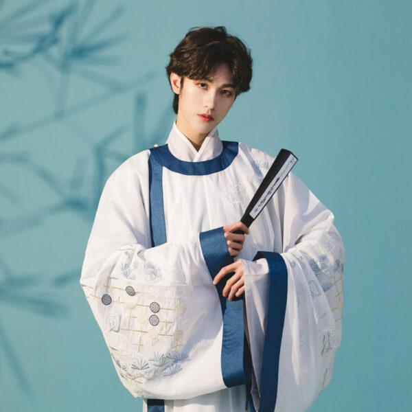 chess male hanfu robe shop