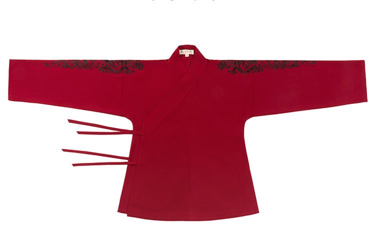 Shop Hanfu Men Red Clothing